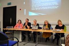 Dr Pippa Grenfrell, Luca Stevenson, Dr Gillian Wylie, Dr Leigh-Ann Sweeney & Dr Belinda Brooks-Gordon